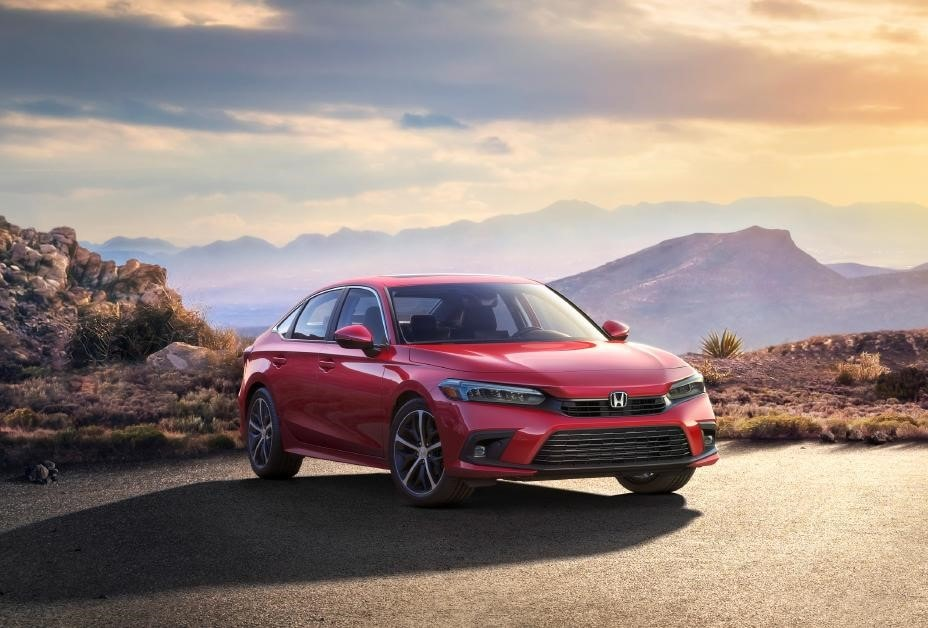 All-New Red 2022 Honda Civic