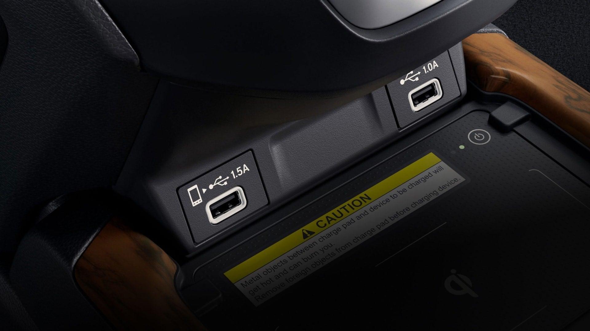 Honda Rear USB Ports