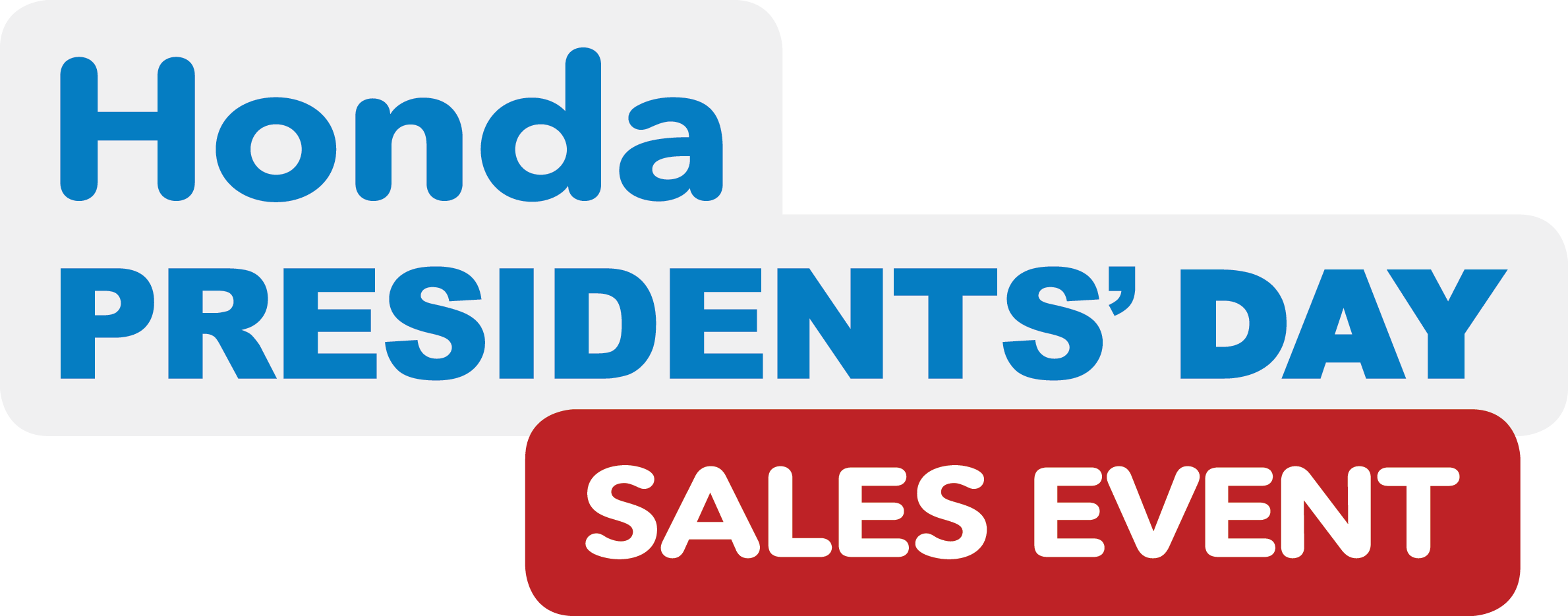 Honda Presidents' Day Sales Event