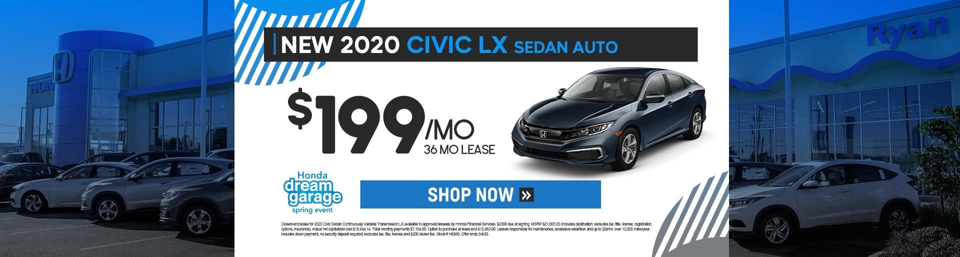 Ryan Honda - 2020 Civic