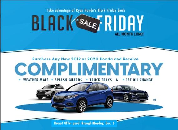 Black Friday Deals At Ryan Honda In Monroe Louisiana Ryan Honda