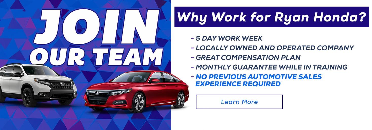 Ryan Chevrolet Monroe La >> New Honda Used Car Dealer In Monroe La