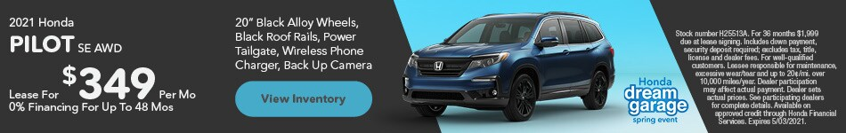 2021 Honda Pilot SE AWD