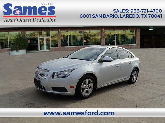 2012 Chevrolet Cruze LT w/1FL Sedan