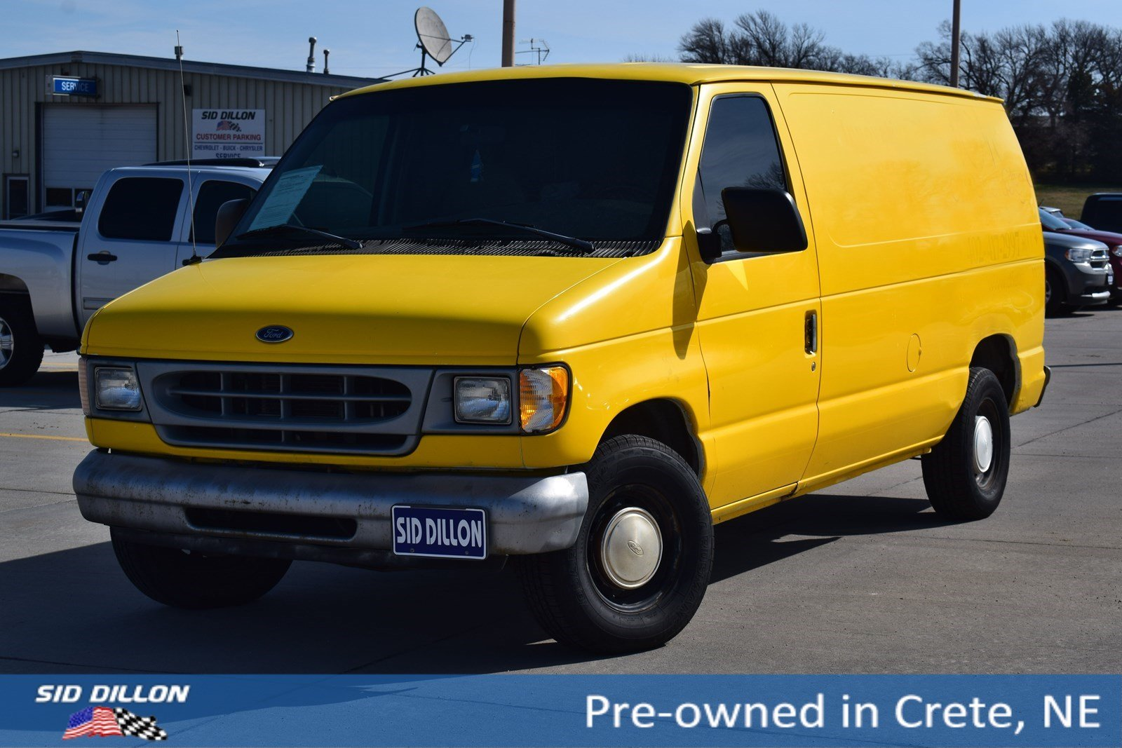 Ford Cargo Van For Sale >> Used 1999 Ford Econoline Cargo Van For Sale Fremont Ne Stock