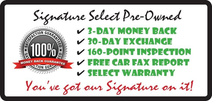 Signature Select Pre-Owned