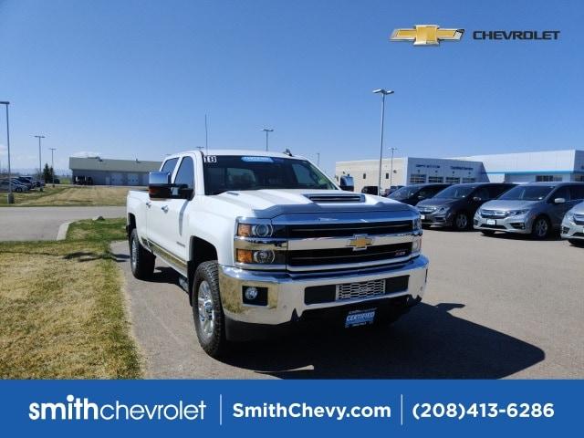 2018 Chevrolet Silverado 3500HD LTZ Truck Crew Cab
