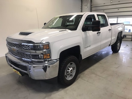 Featured used 2019 Chevrolet Silverado 2500HD Work Truck Truck Crew Cab for sale in Two Harbors, MN, near Duluth