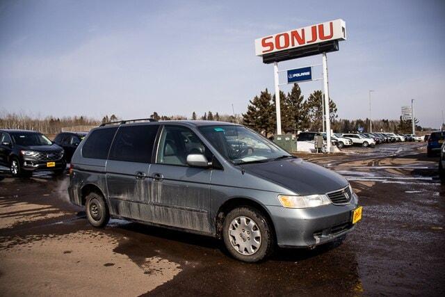 2002 Honda Odyssey EX-L Mini-Van