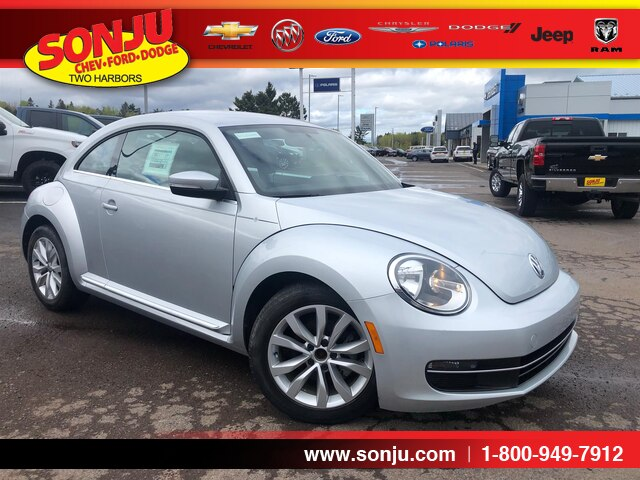 Featured used 2013 Volkswagen Beetle 2.0L TDI Hatchback for sale in Two Harbors, MN, near Duluth