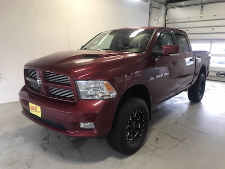 Featured used 2011 Ram 1500 Sport Truck Crew Cab for sale in Two Harbors, MN, near Duluth