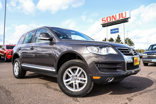 Featured used 2010 Volkswagen Touareg V6 TDI SUV for sale in Two Harbors, MN, near Duluth