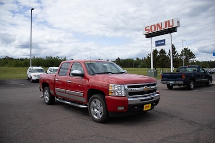 Featured used 2011 Chevrolet Silverado 1500 LT Truck for sale in Two Harbors, MN, near Duluth