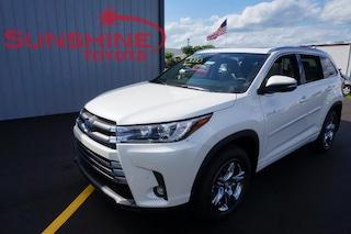 New 2019 Toyota Highlander Hybrid Limited Platinum V6 SUV Battle Creek