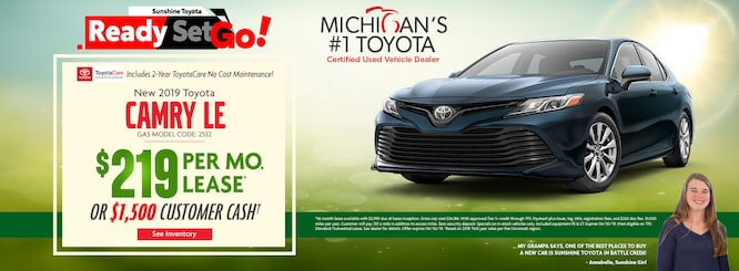 Specials | Sunshine Toyota