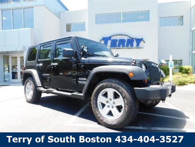 2012 Jeep Wrangler Unlimited Sport SUV for sale at Terry Auto Group