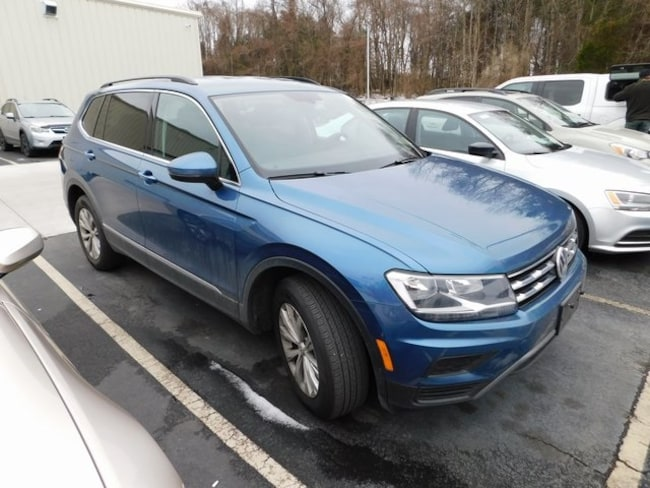 2018 Volkswagen Tiguan 2.0T SE SUV for sale at Terry Auto Group