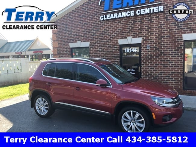 2012 Volkswagen Tiguan SE SUV for sale at Terry Auto Group