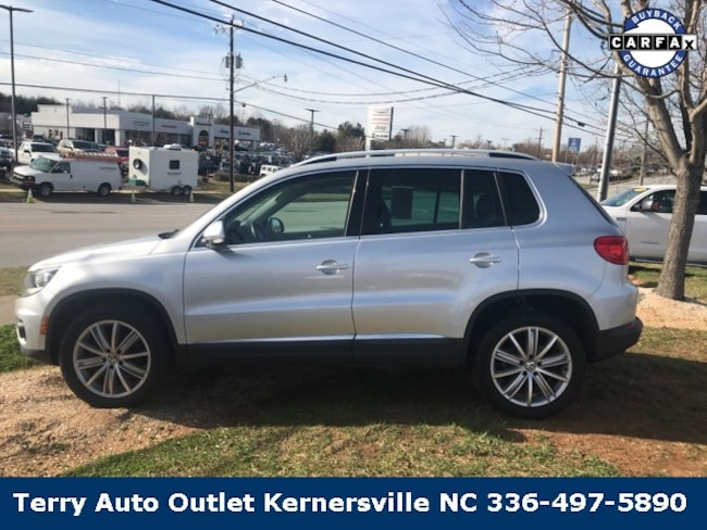 2014 Volkswagen Tiguan SEL SUV for sale at Terry Auto Group