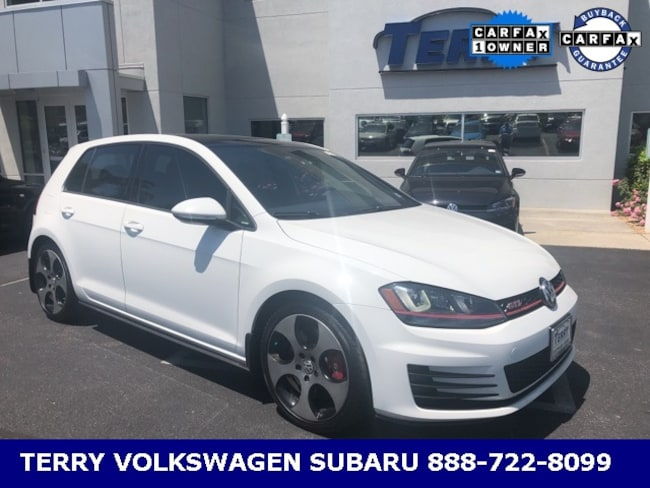 2016 Volkswagen Golf GTI SE Hatchback for sale at Terry Auto Group