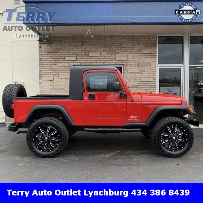 Used 2006 Jeep Wrangler For Sale At Terry Volkswagen Subaru