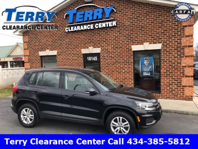2013 Volkswagen Tiguan S SUV for sale at Terry Auto Group