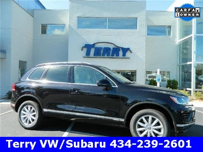 Volkswagen Touareg For Sale >> Used 2017 Volkswagen Touareg For Sale At Terry Volkswagen Subaru