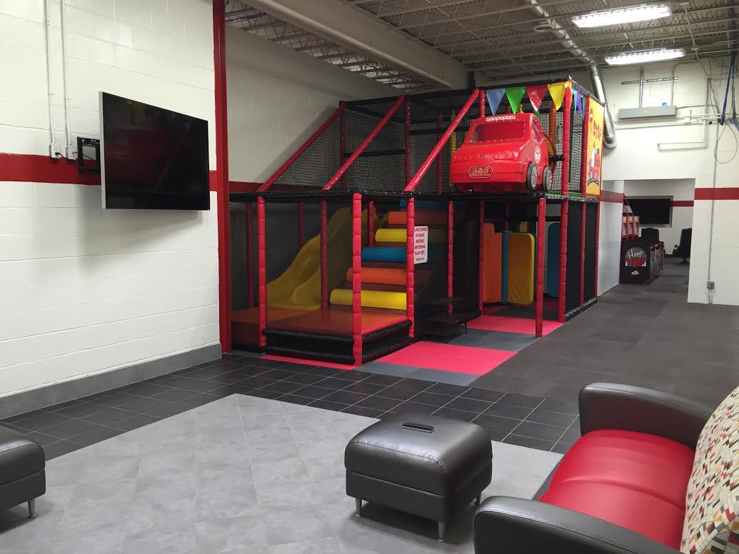 LS Toyota Of Beckley New Toyota Dealership In Beckley WV - Children's indoor play area flooring