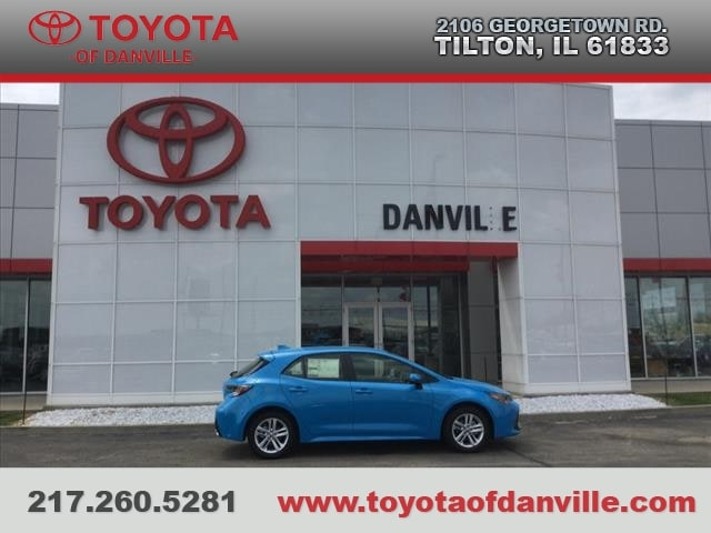 Toyota Danville Il >> New 2019 Toyota Corolla Hatchback For Sale Tilton Il
