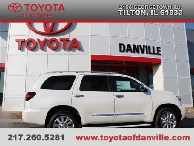 Toyota Danville Il >> New 2019 Toyota Sequoia For Sale Tilton Il 5tddy5g15ks167847