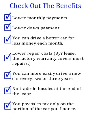 Benefits to Leasing a New Ford