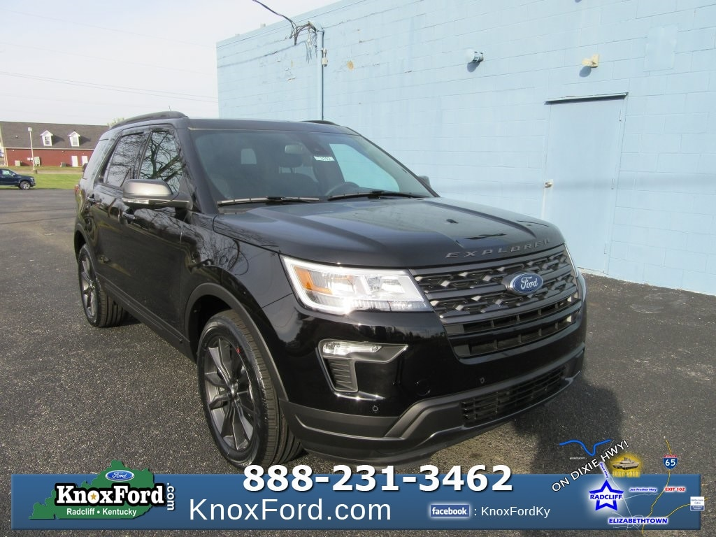 New 2018 Ford Explorer XLT Sport Utility Elizabethtown, Kentucky