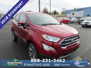New 2018 Ford EcoSport Titanium Sport Utility Radcliff, Kentucky