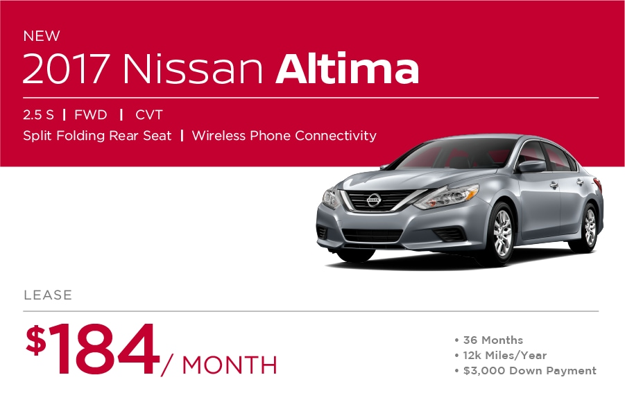 Nissan Altima Special Offer