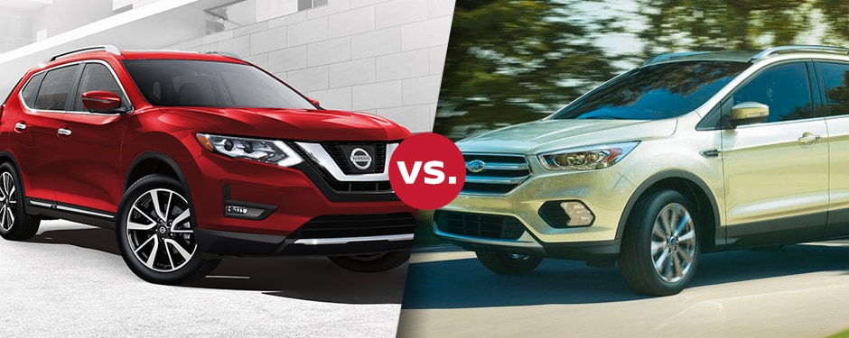 Comparison: 2017 Nissan Rogue vs 2017 Ford Escape