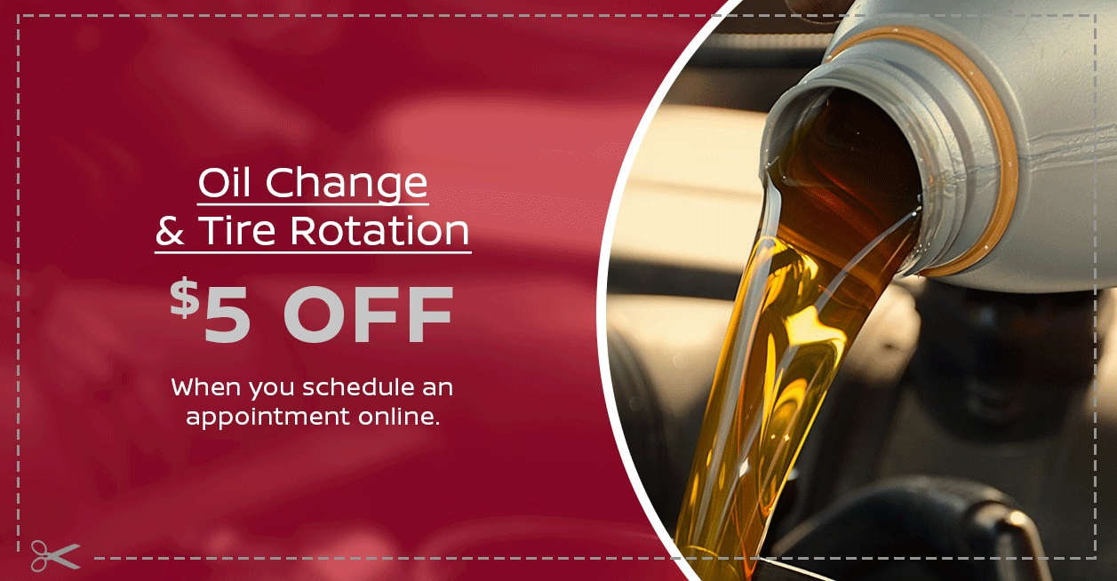 Valley Nissan Oil Change Offer