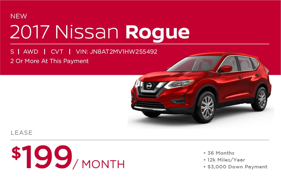Nissan Rogue Special Offer