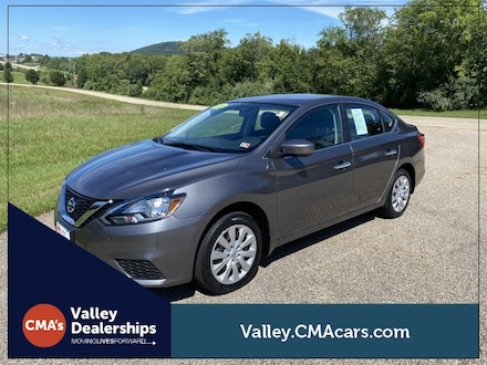 Featured Used 2019 Nissan Sentra S Sedan 3N1AB7AP0KY325732 for Sale in Staunton