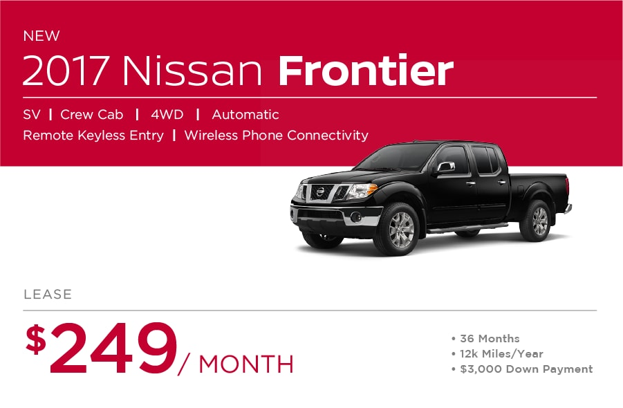 Nissan Frontier Special Offers