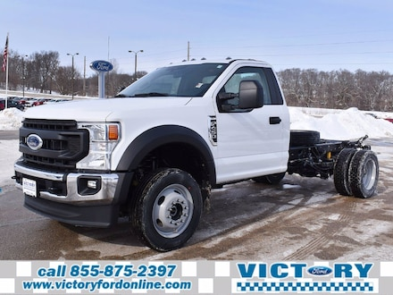 2021 Ford F-450 Chassis XL Truck Regular Cab 4x4