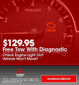 Free Tow With Diagnostic