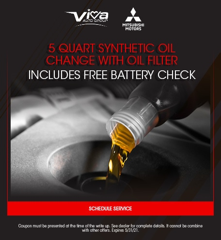 5 Quarts Synthetic Oil Change With Oil Filter Includes Free Battery Check