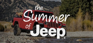 Summer of Jeep Sales Event