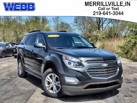 Used 2017 Chevrolet Equinox LT SUV for sale in Merrillville, IN at Webb Mitsubishi