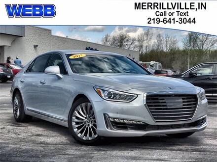 Used 2017 Genesis G90 3.3T Premium Sedan for sale in Merrillville, IN at Webb Mitsubishi