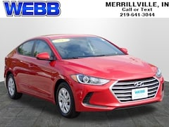Used 2017 Hyundai Elantra SE Sedan 5NPD74LF8HH053581 for sale in Merrillville, IN at Webb Mitsubishi