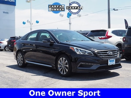 Used 2017 Hyundai Sonata Sport Sedan for sale in Merrillville, IN at Webb Mitsubishi