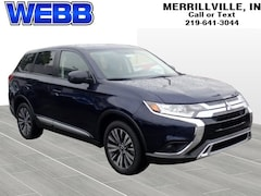 New 2019 Mitsubishi Outlander ES SUV JA4AD2A32KZ003486 for sale in Merrillville, IN at Webb Mitsubishi
