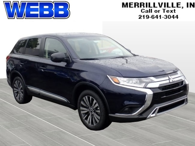 New 2019 Mitsubishi Outlander ES SUV for Sale in Merrillville, IN at Webb Mitsubishi