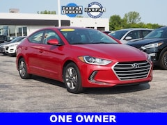 Used 2017 Hyundai Elantra SE Sedan 5NPD84LF4HH048102 for sale in Merrillville, IN at Webb Mitsubishi